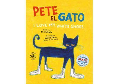 Pete el gato I Love My White Shoes